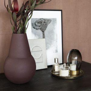 De Rattan is een mooie basis voor je verzameling decoratieve items