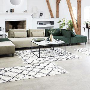 Het vloerkleed in je woonkamer zorgt voor een compleet gevoel