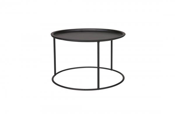 Ivar L Sidetable Metal Black - Woood