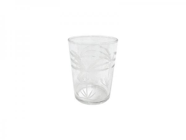 Drinkglas Gegraveerd Palmen - HK Living