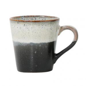 Espressomok 70's Keramiek Rock - HK Living