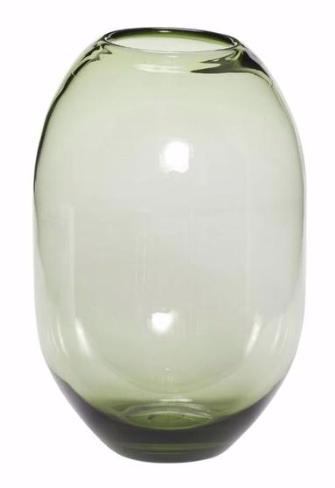 Vaas Groen Glas M - Hubsch