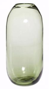 Vaas Groen Glas L - Hubsch