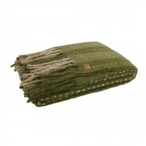 Hug Plaid Groen - BePureHome