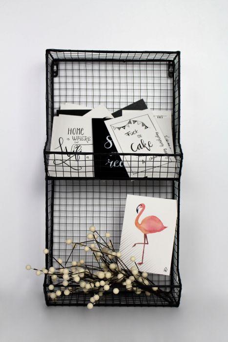 Kaarten Flamingo (Set van 5) - HouseVitamin
