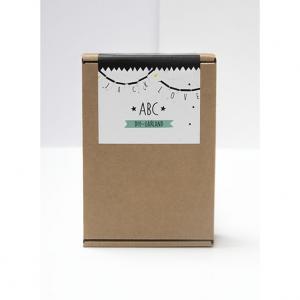 DIY ABC Vlaggendoosje - My Paperstation