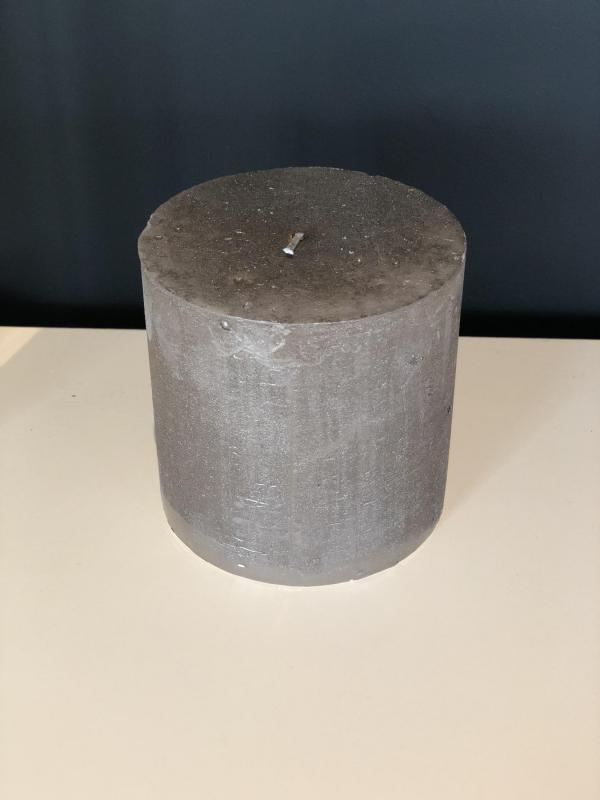 Kaars Metallic Stone S - Branded