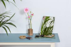 Spiegel Rectangle Grijs - Figr1