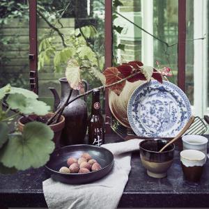 Bord Kyoto Handgeschilderd - HK Living