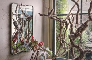 Double Spiegel Antique Brass - BePureHome