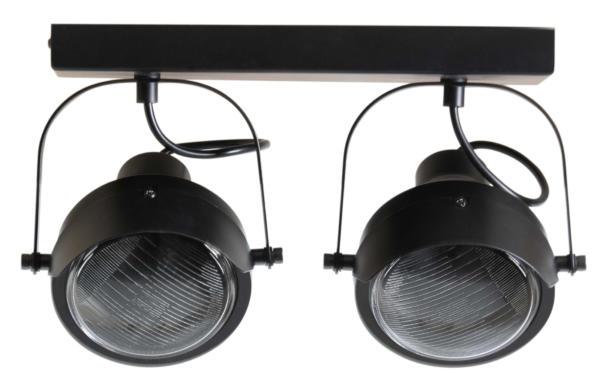 Plafondlamp Lester 2 Lampen - Woood