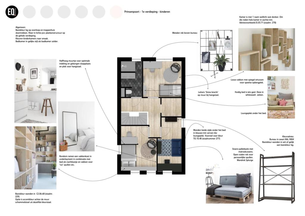 Interieuradvies slaapkamer en badkamer
