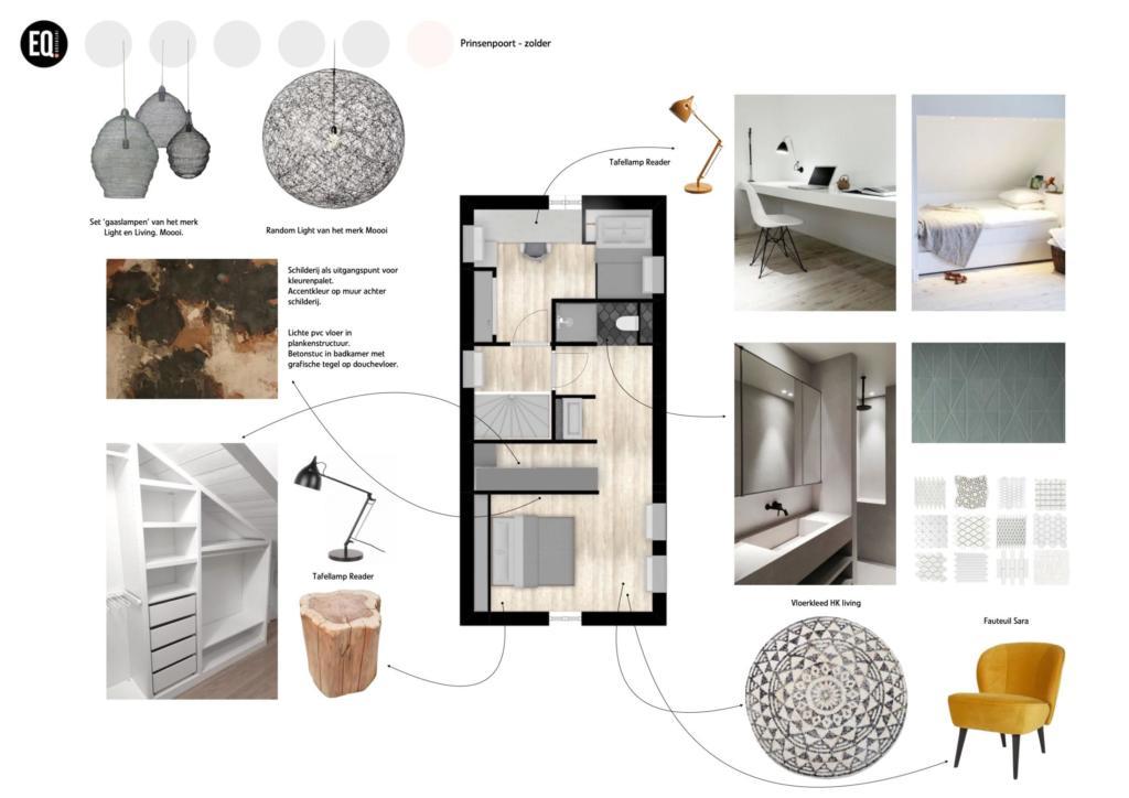 Interieuradvies zolderverdieping