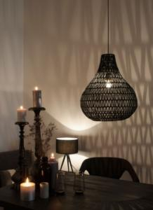 Pendant Lamp Cable Drop Black - Zuiver