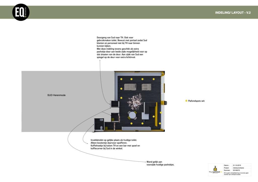 Interieuradvies winkel indeling ontwerp