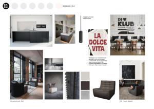 Interieuradvies en interieurontwerp eetkamer grachtenpand Zwolle