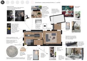 Interieuradvies en interieurontwerp indeling keuken en eetkamer
