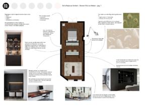 Interieuradvies smalle slaapkamer grachtenpand