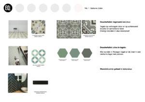 Kleuradvies en materiaaladvies tegels badkamer