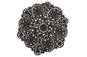 Coaster Vloerkleed Zwart - BePureHome